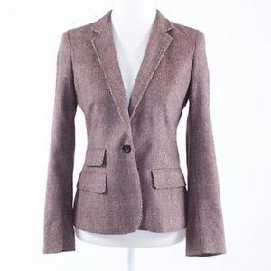MaxMara Italian Angora Wool Pantsuit